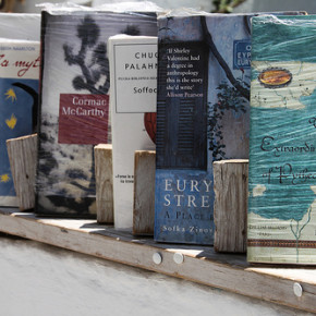 Stumped? Banish writer's block with books, lots of books