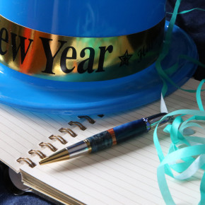 Five fab New Year's resolutions for writers