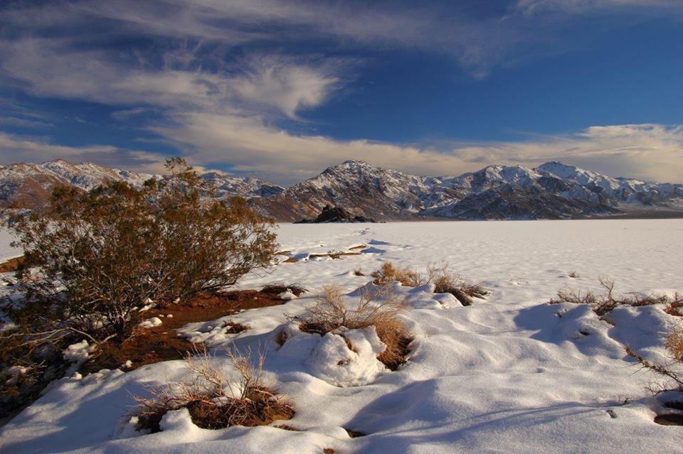 Snow in Death Valley (Courtesy of Greg Quirin)