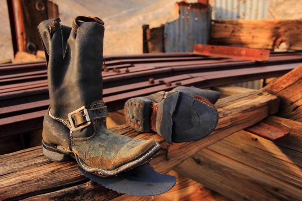 Death Valley boots (Photo by Greg Quirin)